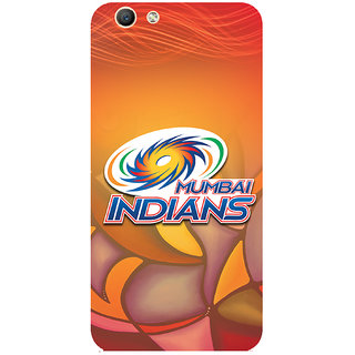 GripIt Mumbai Indians (RED) Case for Oppo F1s
