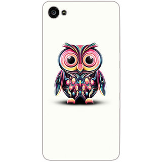 GripIt Coloueful Owl Printed Case for Lenovo Zuk Z2 Plus