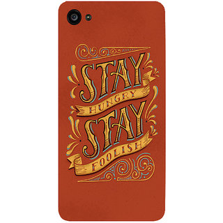 GripIt Stay Hunger Stay Foolish Printed Case for Lenovo Zuk Z2 Plus