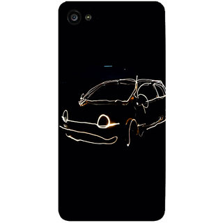 GripIt LED Car Printed Case for Lenovo Zuk Z2 Plus