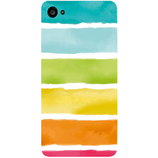 GripIt Watercolor Strips Printed Case for Lenovo Zuk Z2 Plus