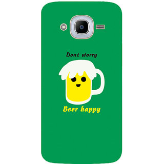 GripIt Beer Happy Printed Case for Samsung Galaxy J2 Pro