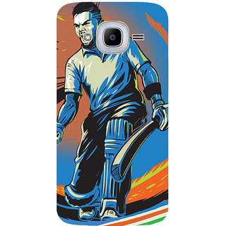 GripIt Virat Kohli Back Cover for Samsung Galaxy J2 Pro