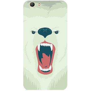 GripIt Polar Bear Printed Case for Oppo F1s