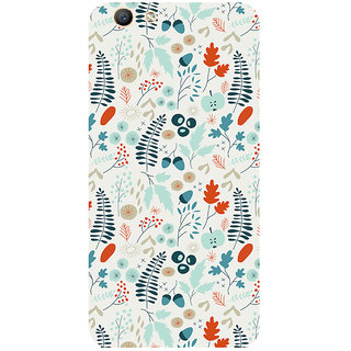 GripIt Spring Pattern Printed Case for Oppo F1s