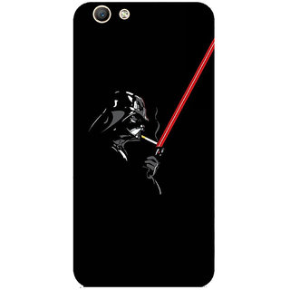 GripIt Darth Vader Printed Back Cover for Oppo F1s