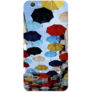 GripIt Umbrellas Printed Case for Oppo F1s