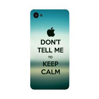 GripIt Apple Keep Calm Printed Case for Lenovo Zuk Z2 Plus