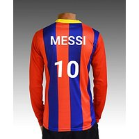 Messi barsonala 10nbr football Jersey with shorts
