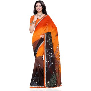 Beauty N Women Multi Silk Saree