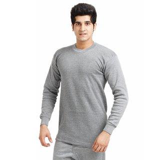 TT ( Pack of 1 ) Grey Round Neck Thermal Vest For Men