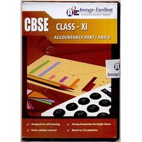 CBSE Class 11 Accountancy Part I  II Study Pack