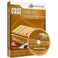 CBSE Class 12 Accountancy Part I  II Study Pack