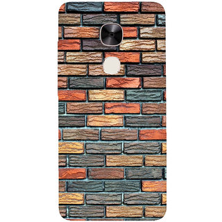 GripIt Brick Wall Printed Back Cover for LeEco Le2 Pro