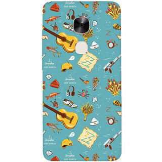 GripIt Deep Search Printed Casefor LeEco Le2 Pro