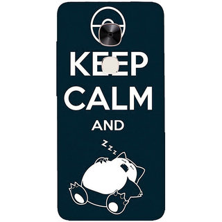 GripIt Pokemon Keep Calm Printed Casefor LeEco Le2 Pro