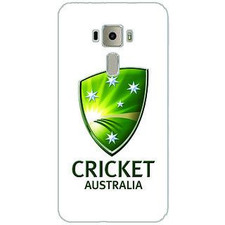GripIt Australian Cricket Board Back Cover for Asus Zenfone 3