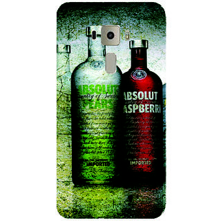 GripIt Absolut-Collection Printed Case for Asus Zenfone 3 Laser