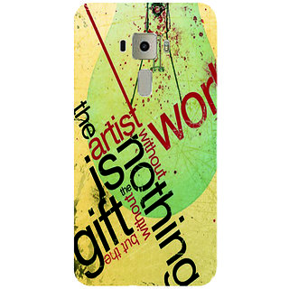 GripIt The Artist Printed Case for Asus Zenfone 3 Laser