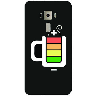 GripIt Charged Beer Printed Case for Asus Zenfone 3 Laser