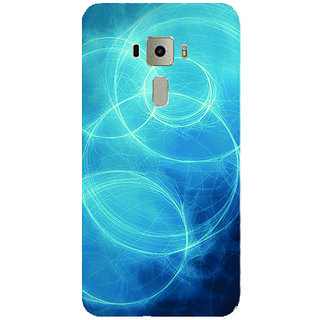 GripIt Circles Of Light Printed Case for Asus Zenfone 3 Laser