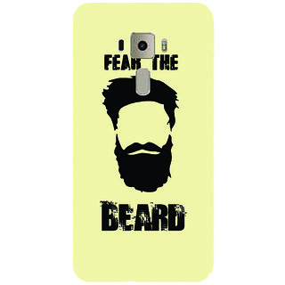 GripIt FEAR BEARD Printed Case for Asus Zenfone 3