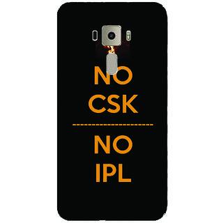 GripIt NO CSK NO IPL Case for Asus Zenfone 3 Laser