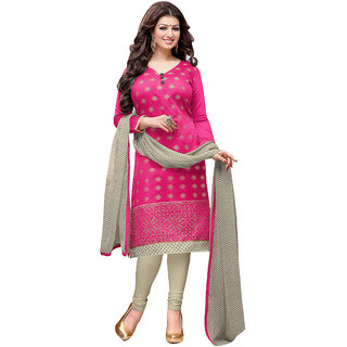 Trendz Apparels Meganto Embroidery Unstitched Dress Material DRD49005