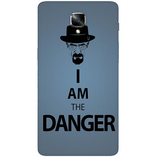 GripIt Breaking Bad Danger Printed Back Cover for OnePlus 3