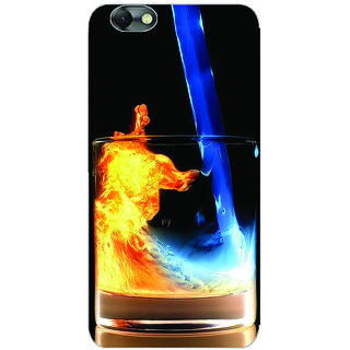GripIt Fiery Whiskey Printed Case for Lenovo Vibe C