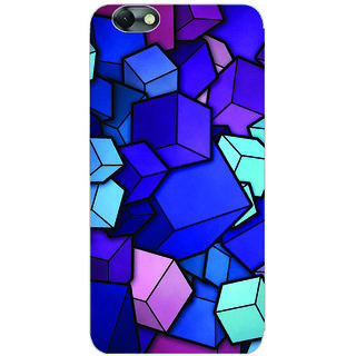 GripIt Galaxy of Cubes Printed Case for Lenovo Vibe C