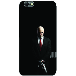 GripIt Hitman Printed Back Cover for Lenovo Vibe C