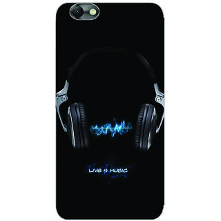 GripIt Live 4 Music Printed Case for Lenovo Vibe C