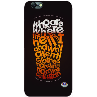GripIt Non Beer Printed Case for Lenovo Vibe C