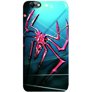 GripIt Red Spider Printed Case for Lenovo Vibe C