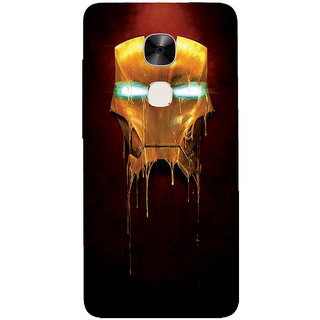 GripIt Ironman Mask Printed Casefor LeEco Le2