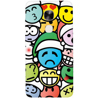 GripIt Different Smiles Printed Casefor LeEco Le2