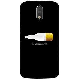GripIt Beer Charging Case for Motorola Moto G4 Plus