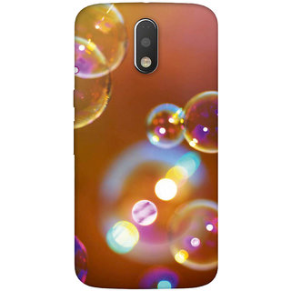 GripIt Bubbles Case for Motorola Moto G4 Plus
