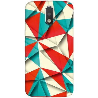 GripIt Crushed Paper Pattern Case for Motorola Moto G4 Plus