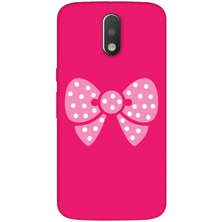 GripIt Pink Butterfly Case for Motorola Moto G4 Plus