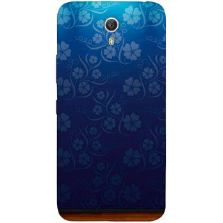 GripIt Flower Wallpaper Case for Lenovo Zuk Z1