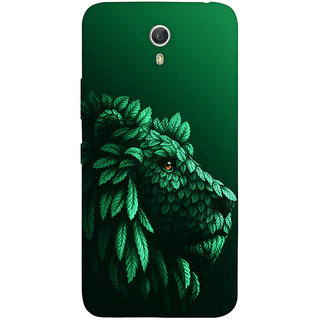 GripIt Lion in the Leaves Case for Lenovo Zuk Z1