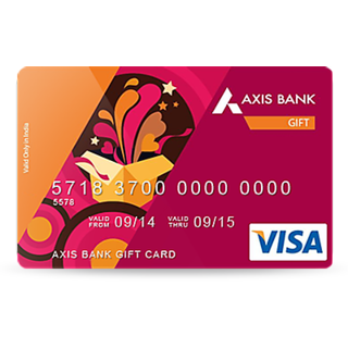 Axis Bank Prepaid Gift Card worth Rs. 10000