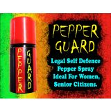 Gadget Hero's Pepper Guard Legal Self Defence Pepper Spray Ideal For Women & Senior Citizen.
