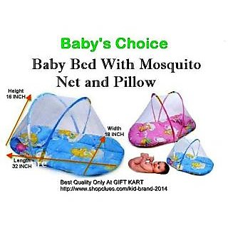 Baby Bedding With Mosquito Net and Pillow CodEwV-0021