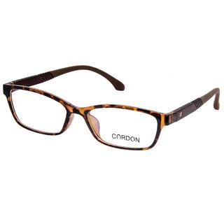 Cardon Brown Full Rim Unisex Rectangular Spectacle Frame
