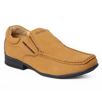 Red Chief Men's Brown Slip On Formal Shoes