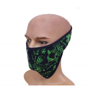 sushito Skull Design Half Face Mask JSMFHFM0546N