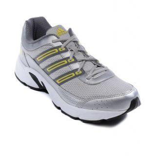 Adidas Desma Men's Silver Lace Up Sport Shoes